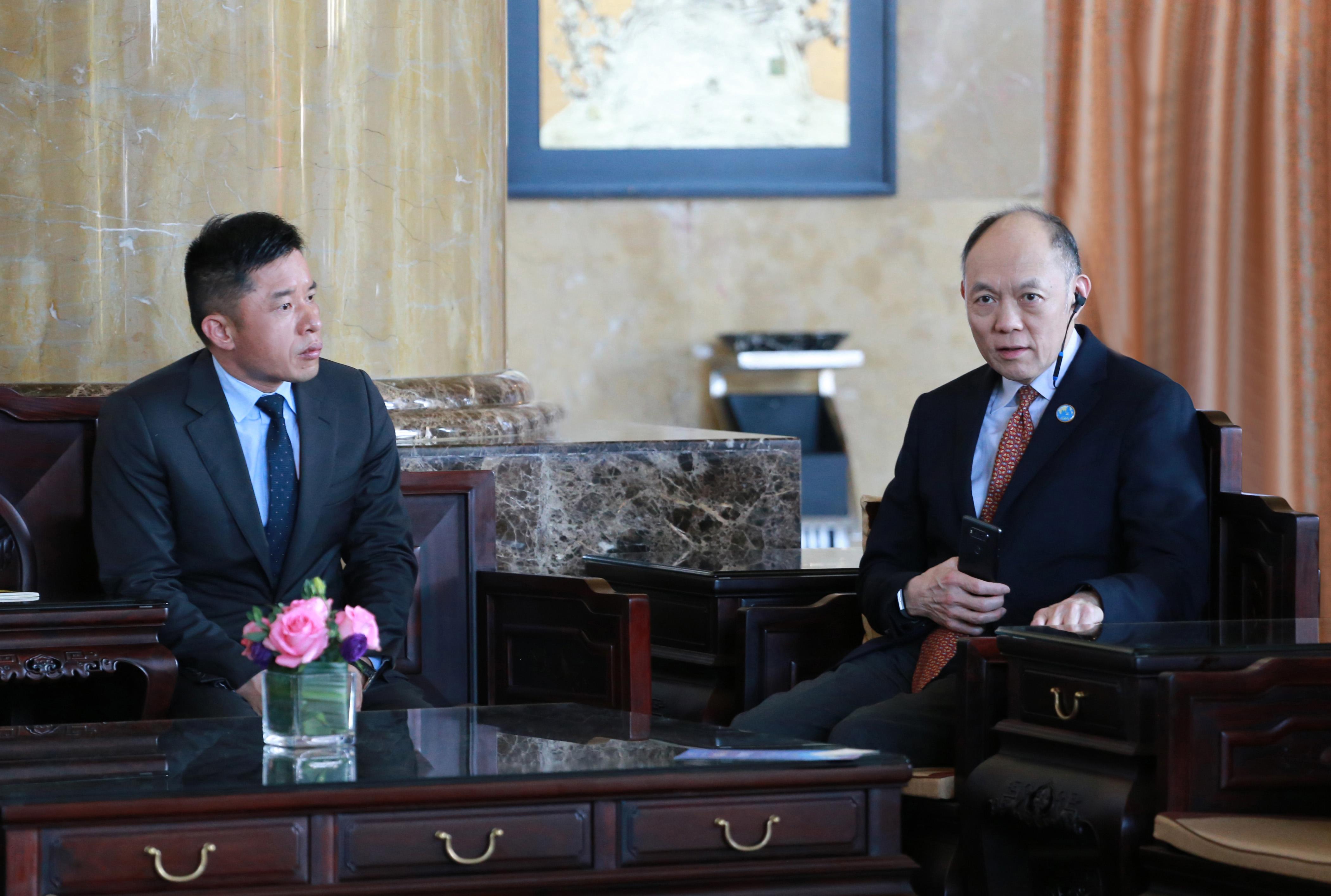全国人大代表、香港霍英东集团行政总裁霍震寰.JPG
